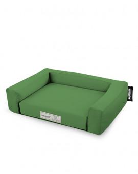 Hundebett Einfarbig Grün