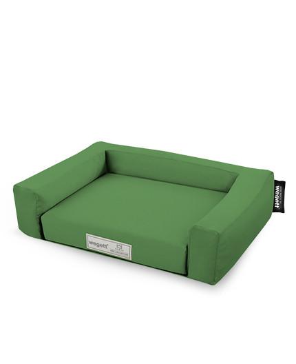 Psí pelíšek Jednobarevný Zelená