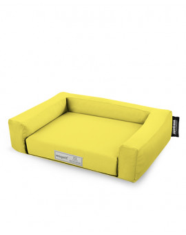 Psí pelíšek Jednobarevný Žlutá