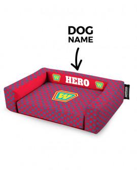 Hundebett Hero Red
