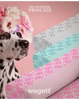 Hundebett Princess Grey