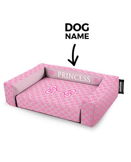 Pelech pre psov tlač Princess Pink