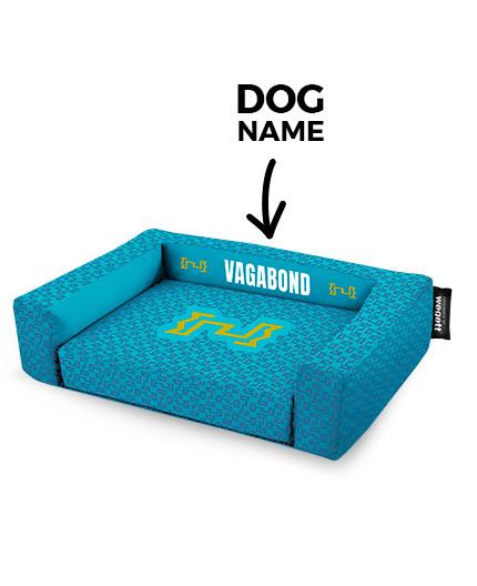 Pelech pre psov tlač Vagabond Blue
