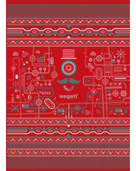 Sedací vak Classic Urban Red | Wegett