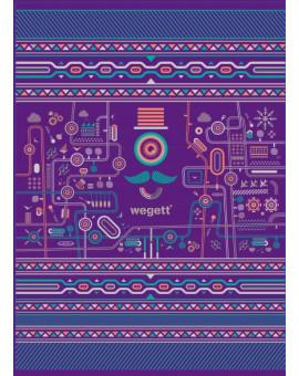 Sedací vak Classic Urban Purple | Wegett