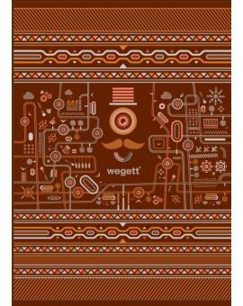 Sedací vak Classic Urban Brown | Wegett