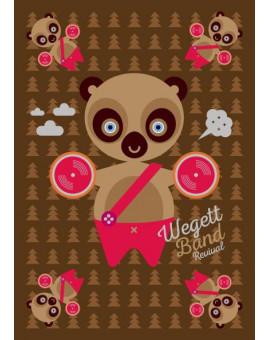Sedací vak Simple Bear | Wegett