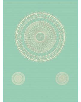 Sedací vak Simple Lace Mint | Wegett