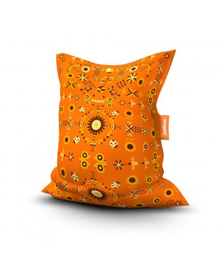 Sedací vak Simple Garden Orange | Wegett