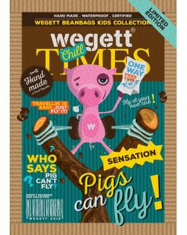 Sedací vak Simple Piggy | Wegett