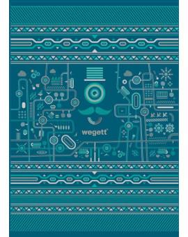 Sedací vak Simple Urban Turquoise | Wegett