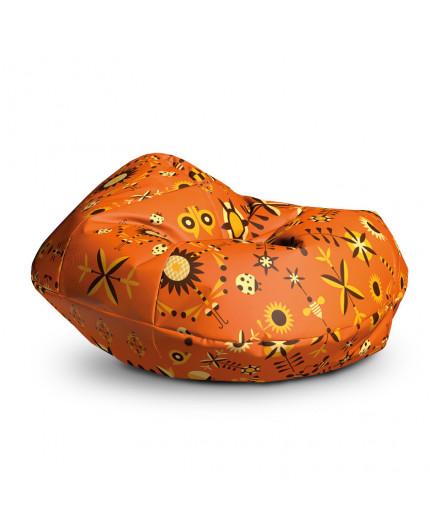 Sedací vak Cocoon XXL Garden Orange | Wegett