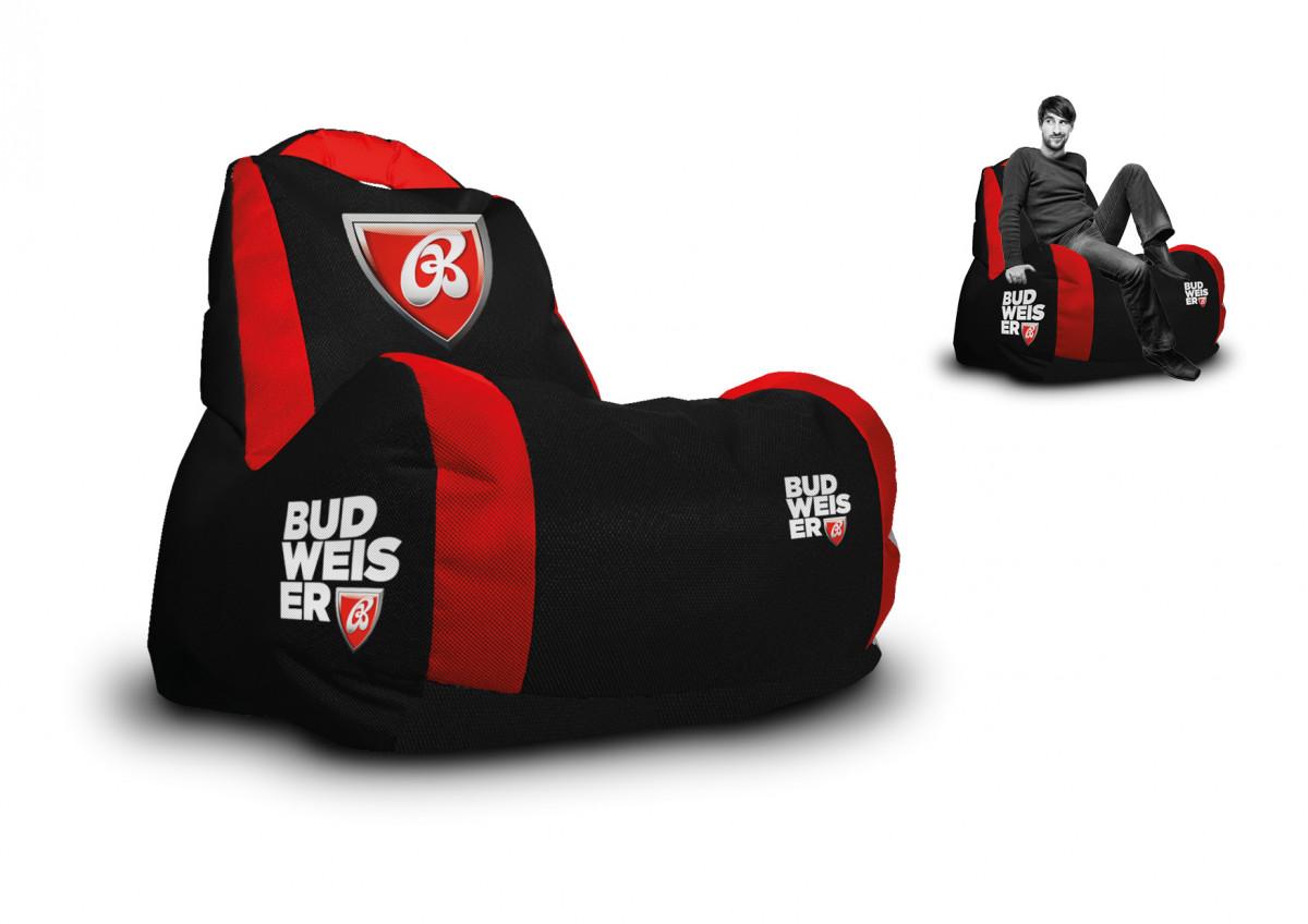 Budweiser - sedací vak od Wegett