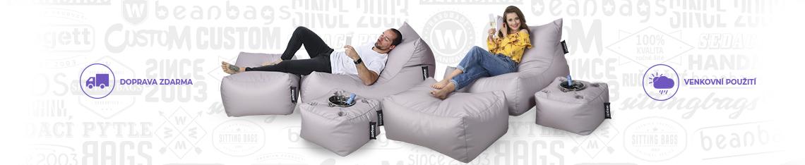 Výhodné sety sedacích vaků Wegett